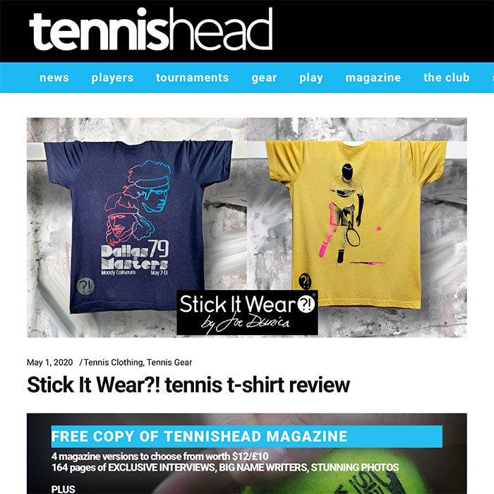 Tennishead Magazine May 1, 2020
