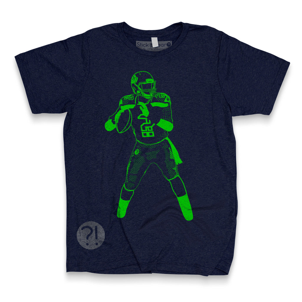 HAWK AT SEA Football Scrimmage Tee