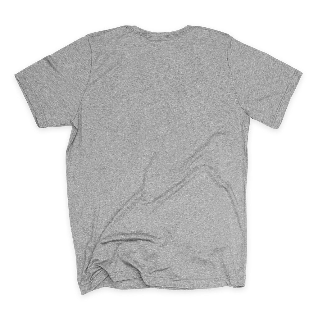 Back of Stick it Wear?! 'NYC96' Tennis Crew T-shirt in grey.