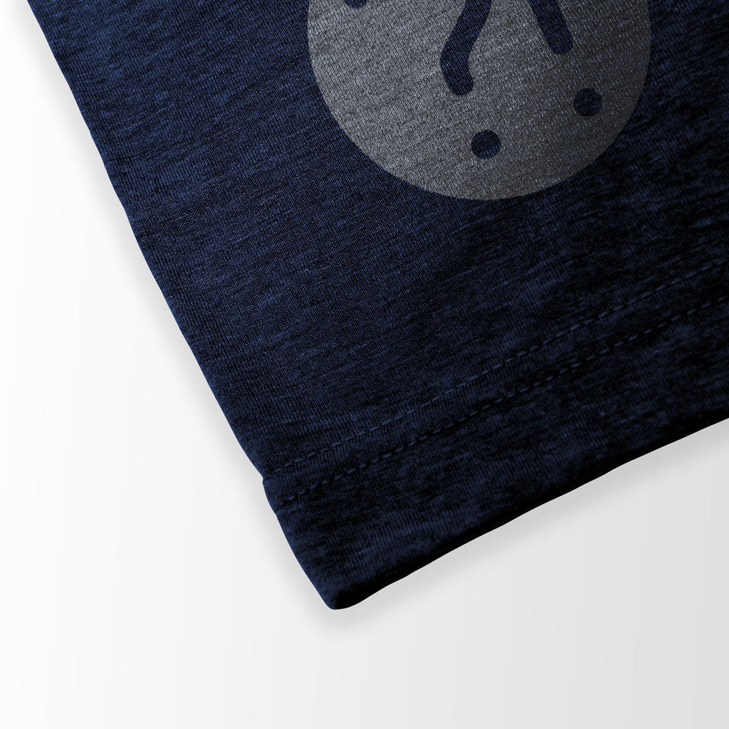 SPACE TENNIS Graphic Tee in navy