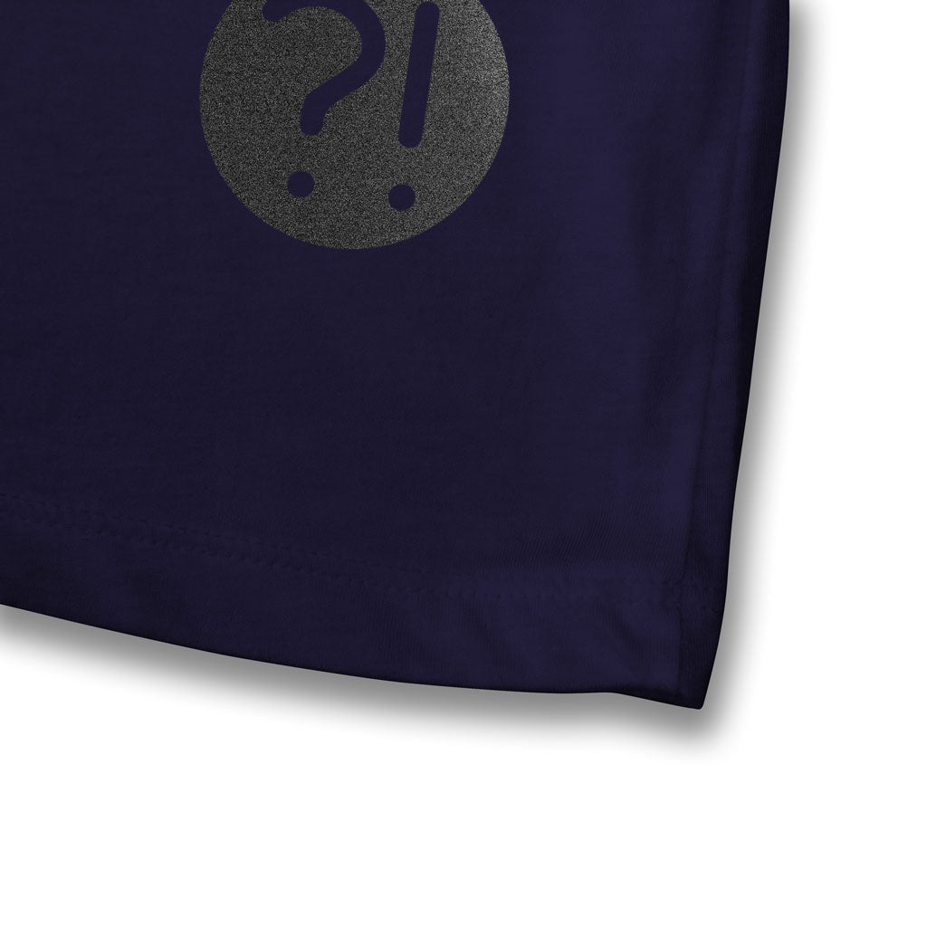 SPACE TENNIS Women's Tee in navy