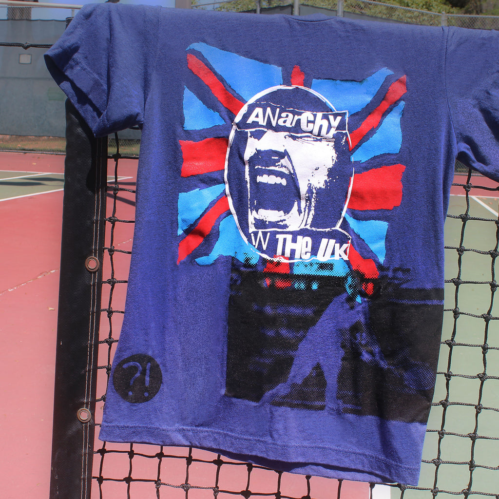 ANARCHY IN THE UK Grasscourt Tennis Tee