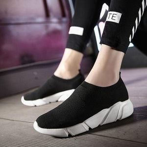 MWY Breathable Winter Ankle Shoes Women Socks Shoes Woman Sneakers Casual Elasticity Warm Platform Shoes Mujer tenis feminino