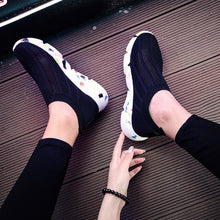 Load image into Gallery viewer, MWY Breathable Winter Ankle Shoes Women Socks Shoes Woman Sneakers Casual Elasticity Warm Platform Shoes Mujer tenis feminino