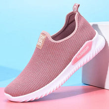 Load image into Gallery viewer, Hot Women Casual Shoes Slip On Black Mesh Breathable Ladies Platform Sneakers Women Trainers Female Running Shoes Tenis Feminino