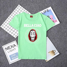 Load image into Gallery viewer, Hillbilly La Casa De Papel Women T Shirs Money Heist The House of Paper Camiseta T Shirt Fashion Casual Dali Mask Casa De Papel