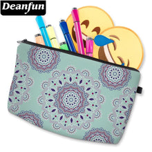 Load image into Gallery viewer, Deanfun 3D Printing Mandala Flower Small Cosmetic Bag Waterproof Cute Makeup Bag Toiletry Bag For Travel D51456