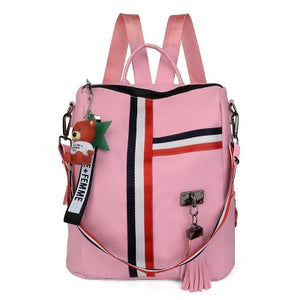 Bags for women 2020 new retro fashion zipper ladies backpack PU Leather high quality school bag shoulder bag for youth