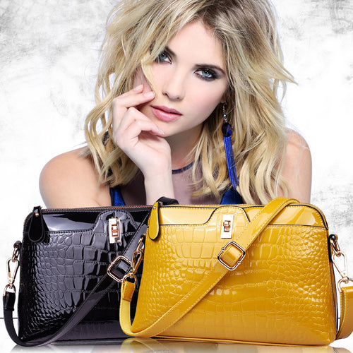 Brand Luxurious Leather Shoulder Bag Women Handbags Fashion Shopper Totes
