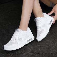 Load image into Gallery viewer, MWY Women Casual Shoes Four Seasons Mesh Woman Fashion Cushion Air Damping Shoes zapatos mujer tenis feminino Flats Sneakers