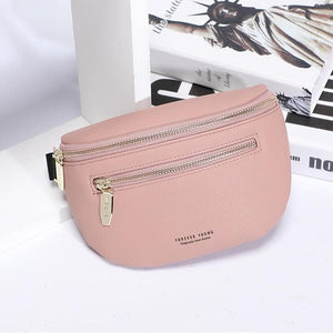 Luxury Multi-functiona Women's Fanny Pack Shoulder Bag and Chest Bag Female Belt Sac Women Waist Bag High Quality Ladies Bolsa
