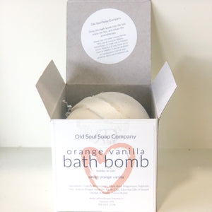 Orange Vanilla Bath Bomb