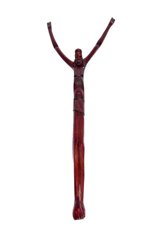 Carved Wooden Christ on the Cross