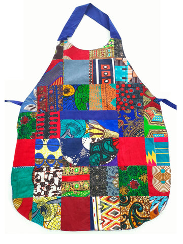 Patchwork Cooking Set: Apron and Gloves
