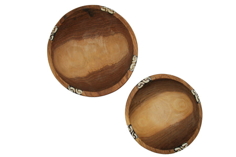 Set of 2 Salad Bowls