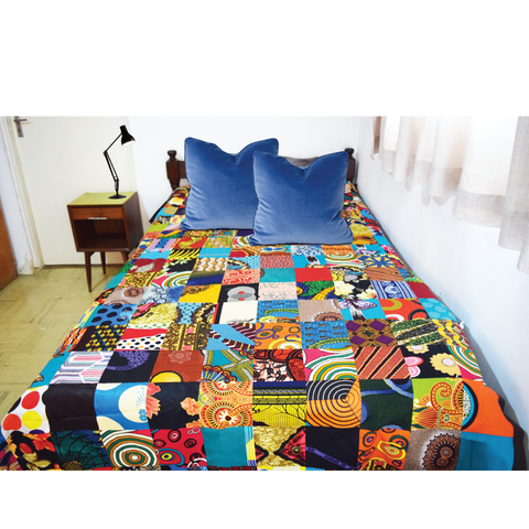 Patchwork Handmade Bed-cover