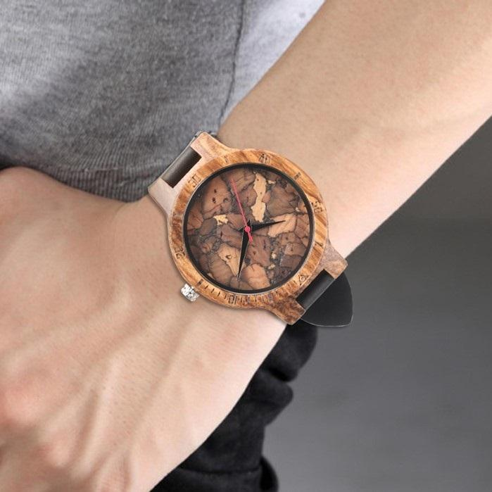 Cork Wooden Watch