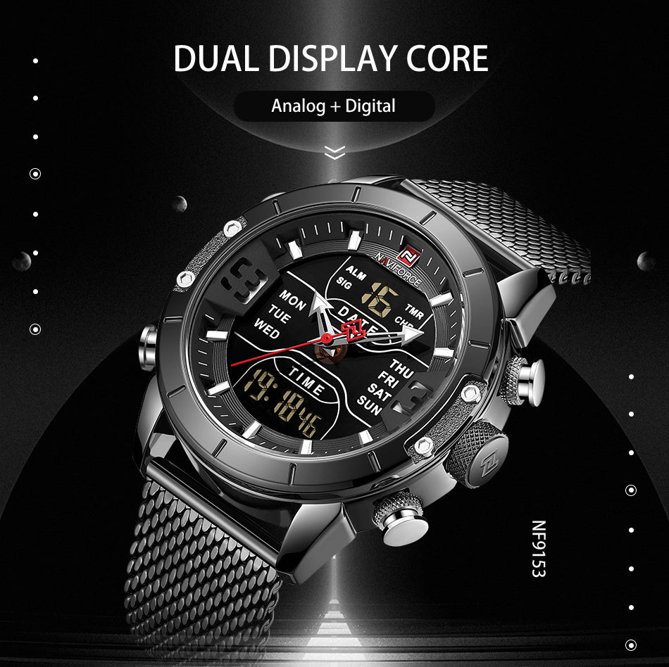 NAVIFORCE high quality original men watch