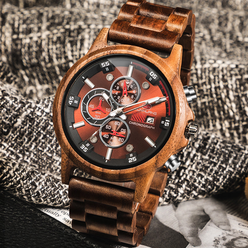 Handmade Natural Wooden Watches Men