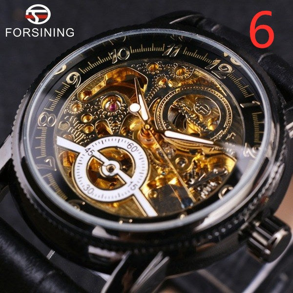 Hollow Automatic Mechanical Watch
