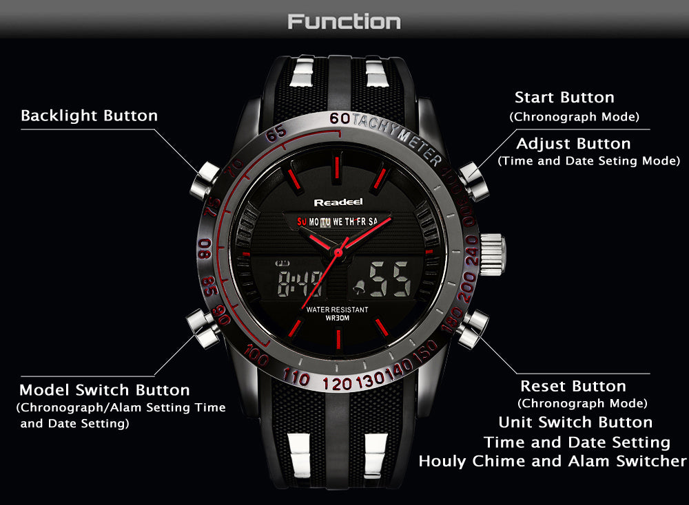 ABRAHAM MILITARY WATCH