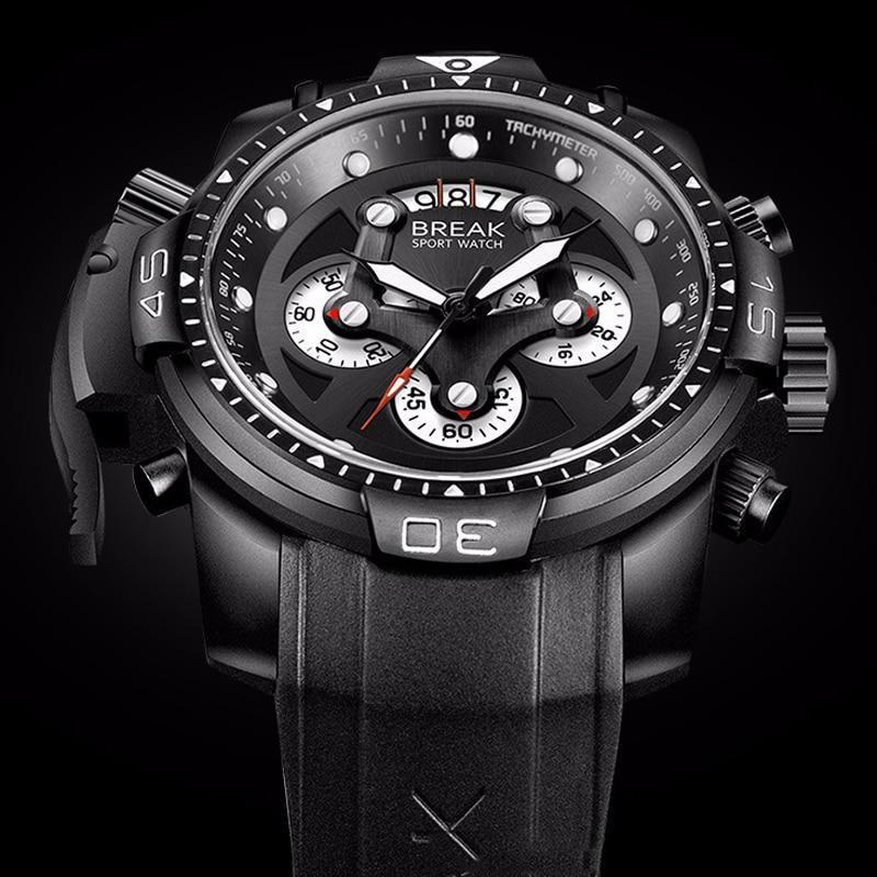 BREAK PREMIUM SPORT CHRONOGRAPH WATCH