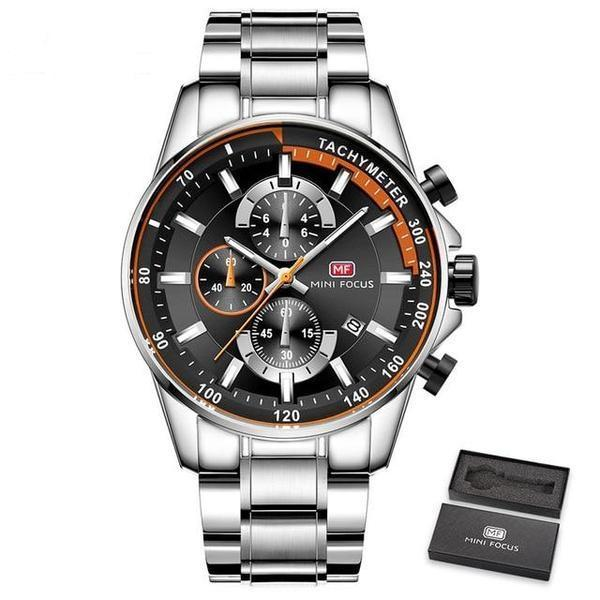 GRAYSON MILITARY CHRONOGRAPH WATCH