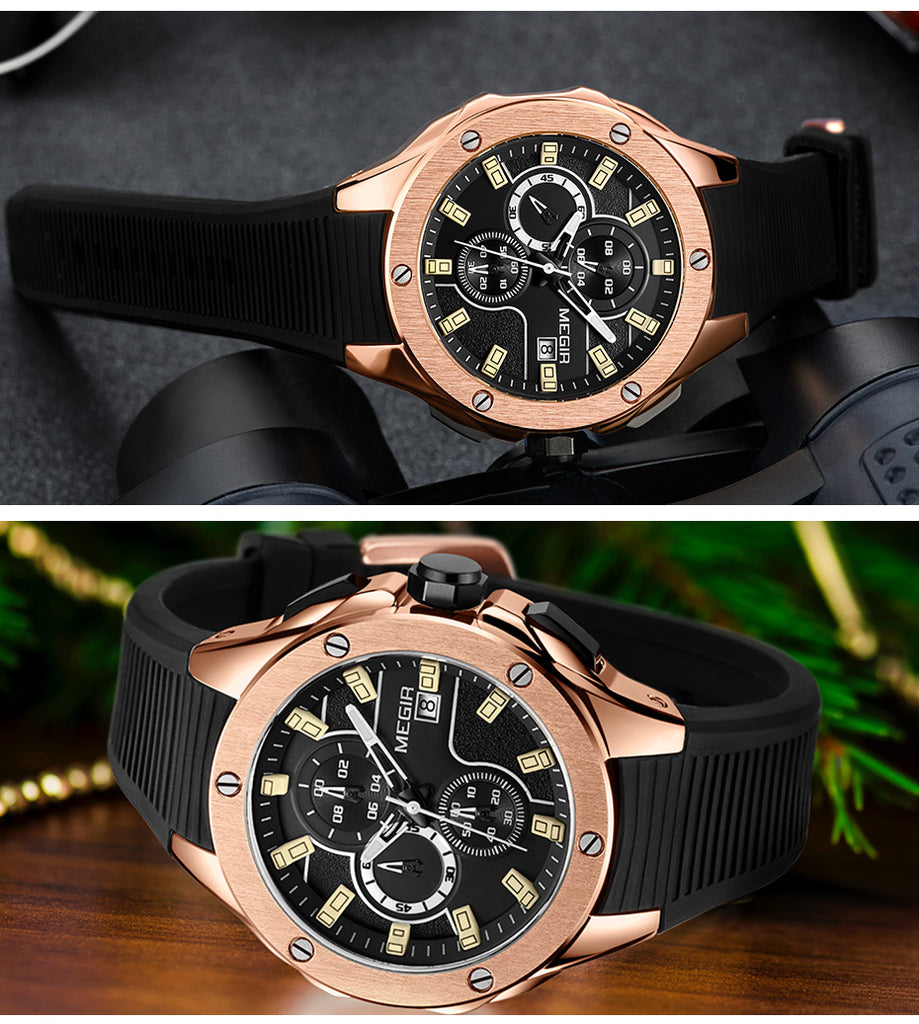 DICK Sport Chronograph Army Military Watch