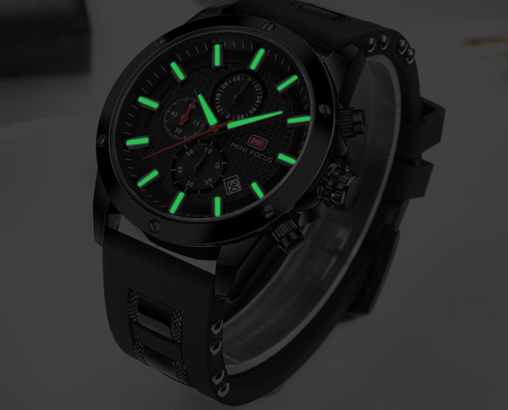 SANDRA QUARTZ MILITARY WATCH