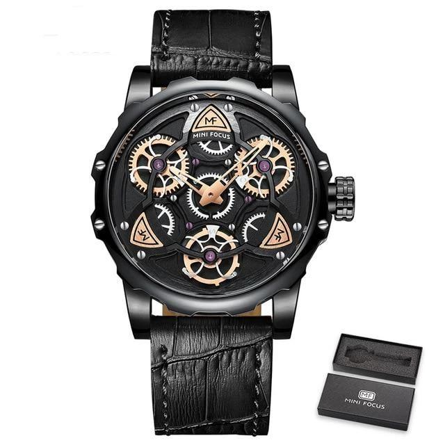 MINI FOCUS ACTION SPORT SKELETON WATCH