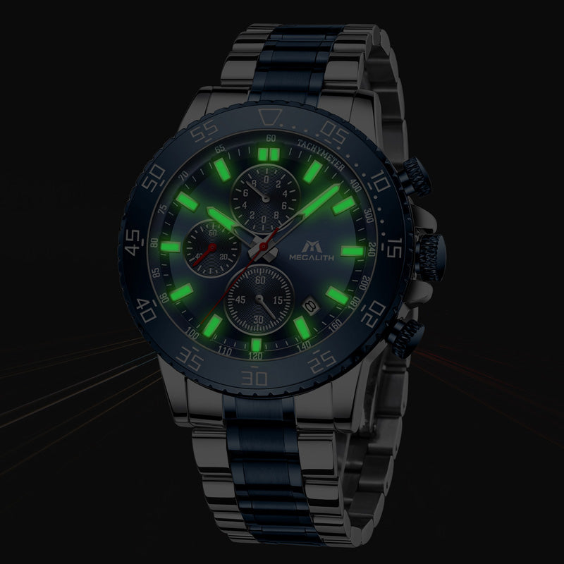 Waterproof Analogue Clock Waterproof Luminous Watch