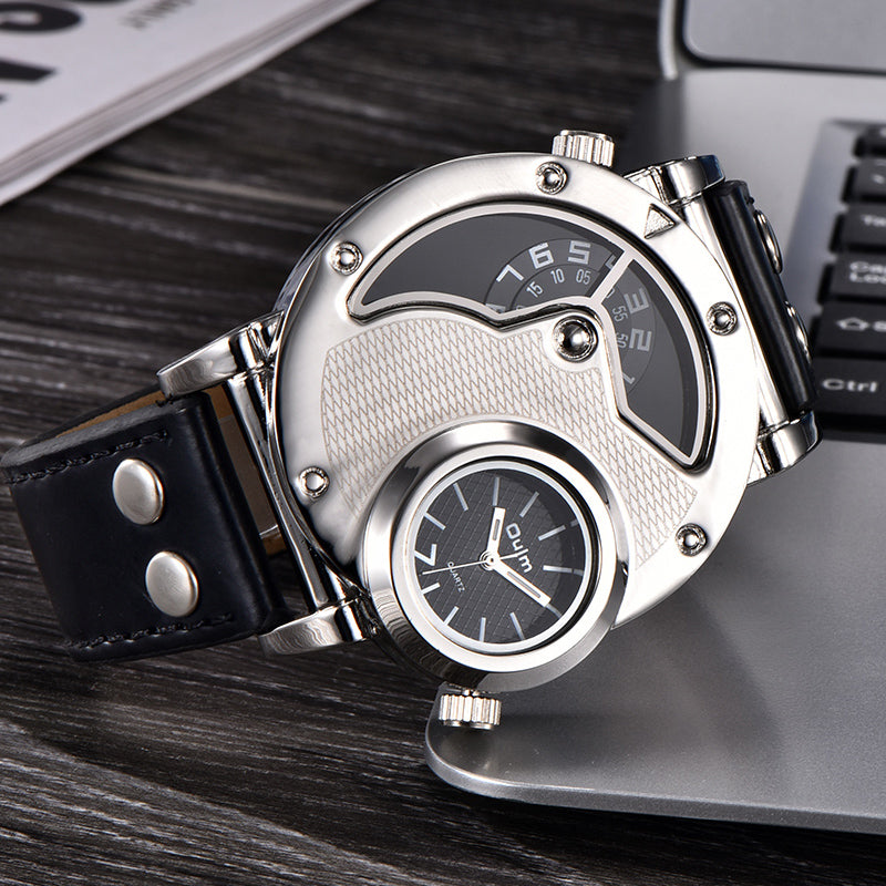 Oulm 9591 Unique Design Fashion Wristwatch Men