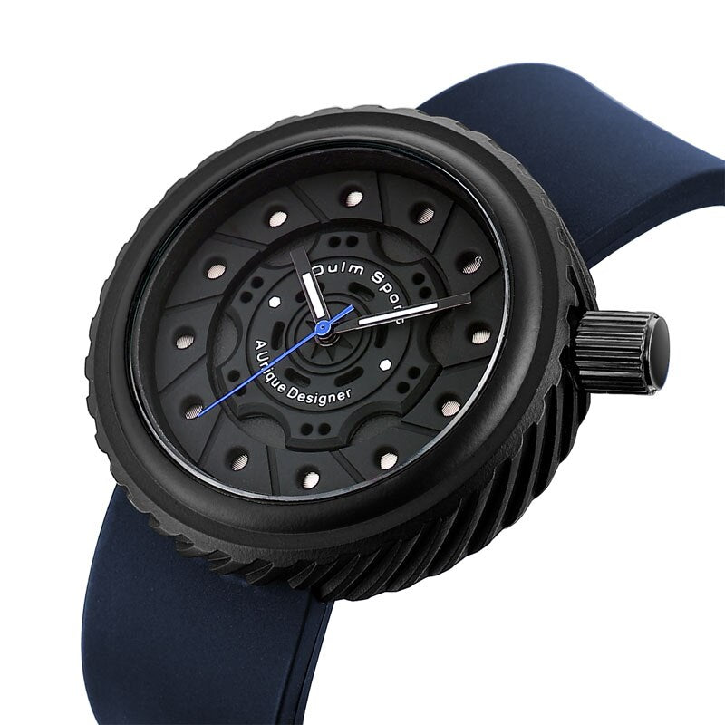 Oulm New Silica Gel Watch Man Wrist Watch