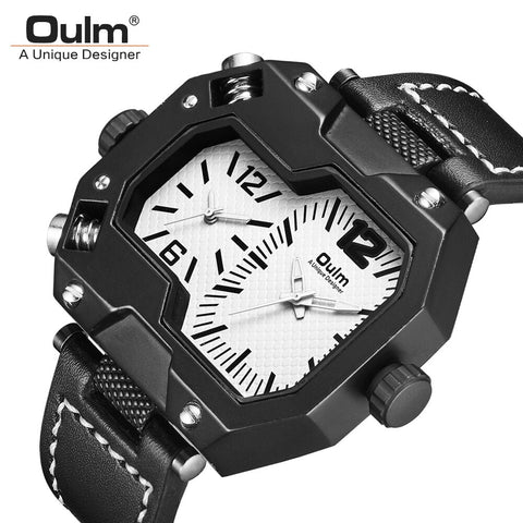 Oulm Men's Casual Sports Watches Fashion Original
