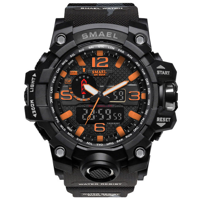 Military Watch 50m Waterproof Watch