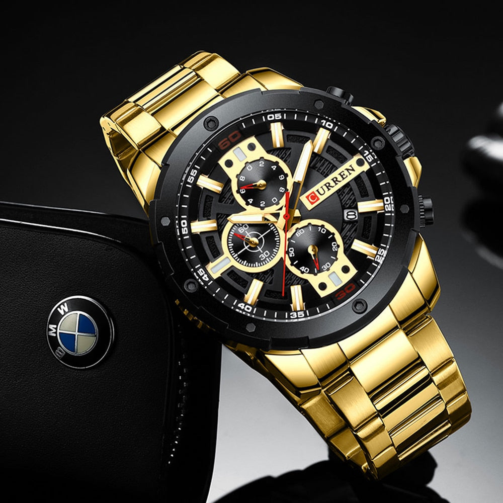 Military Chronograph Clock Male Sporty Watch