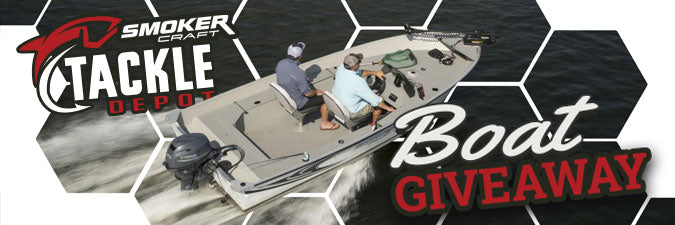 Tackle Depot Boat Giveaway