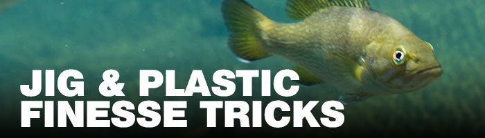 Jig & Plastic Finesse Tricks Article on Tackle Depot