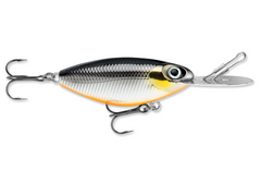 "RAPALA Hot 'N Tot® MadFlash - 2-½"" - BLACK CHROME ORANGE-High Falls Outfitters"