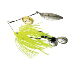 "5"" SAVAGE TIFLEX SPINNER BAIT - CHARTREUSE SHAD-High Falls Outfitters"