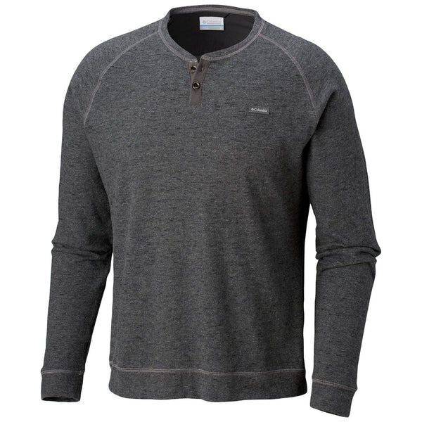 COLUMBIA - TRAIL SHAKER III LONG SLEEVE HENLEY BUTTON-GREY