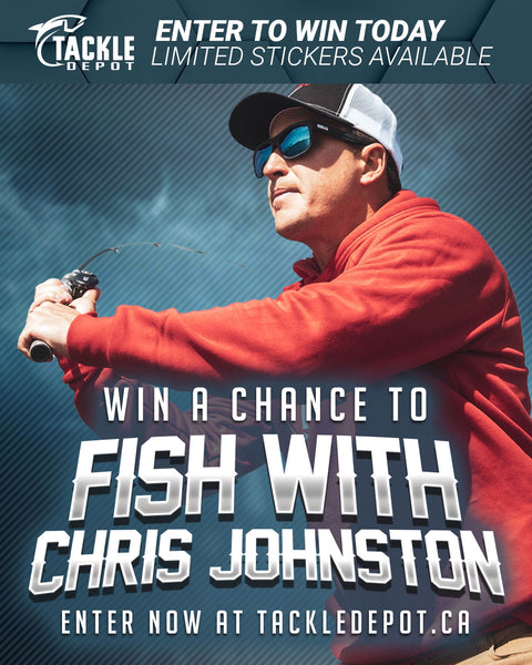Fish with Chris Johnston! Stickers 1 to 100