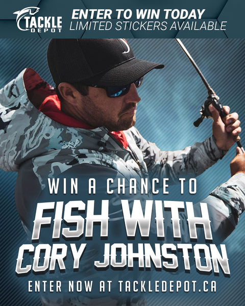 Fish with Cory Johnston! Stickers 1 to 100