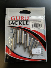 GURU TACKLE - LEAD SKINNY DROP SHOT SINKER