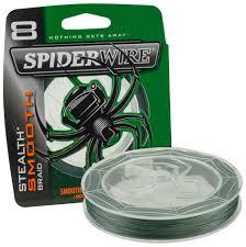 SPIDERWIRE STEALTH SMOOTH BRAID 15 LB 125 YDS-High Falls Outfitters