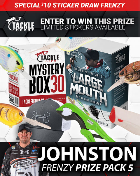 SOLD OUT: Tackle Depot Johnston Frenzy Prize Pack 5