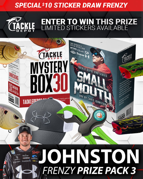 SOLD OUT: Tackle Depot Johnston Frenzy Prize Pack 3