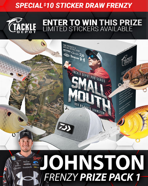 SOLD OUT: Tackle Depot Johnston Frenzy Prize Pack 1