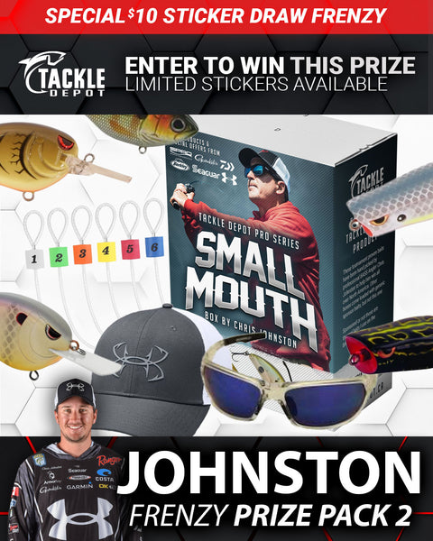 SOLD OUT: Tackle Depot Johnston Frenzy Prize Pack 2