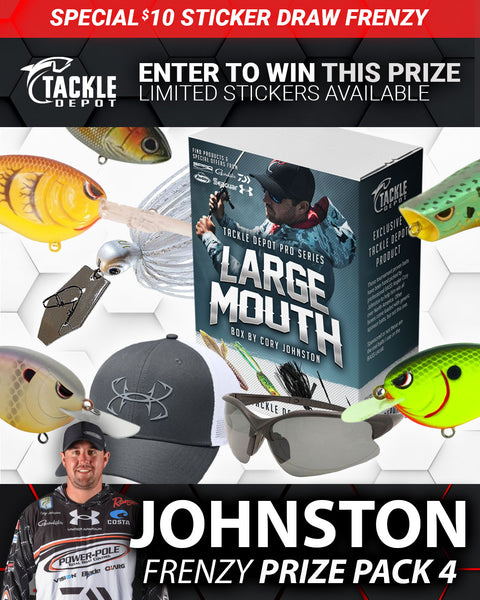 SOLD OUT: Tackle Depot Johnston Frenzy Prize Pack 4